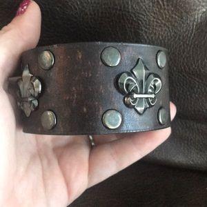 New Men's Buckle Bracelet Cuff🖤